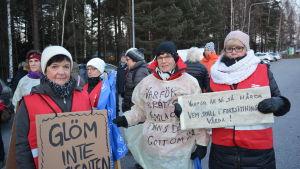 Nina Tonberg, Rosita Kock och Vivan Frlund