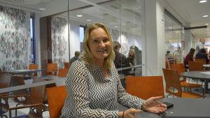 Mia Holmbäck, en av initiativtagarna till Nya ÖB