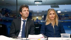 Therese Johaugs advokat Christian B. Hjort försvarar den norska skidstjärnan.