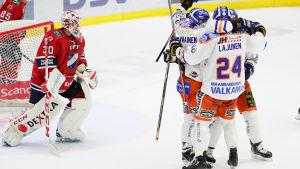Tappara vann över Helsingfors IFK.