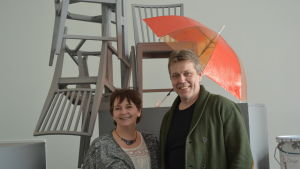 Gabriele Alisch och Sören Lillkung