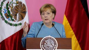 Angela Merkel i Mexiko.