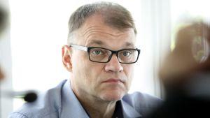 Juha Sipilä i Statsministerns frågetimme 11.06.2017.