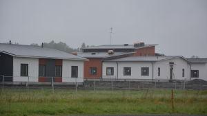 Nybyggda hus i Kimito.