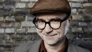 Den danske kriminalförfattaren Lars Kjaedegaard