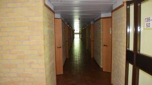 Korridor i raasepori resort.