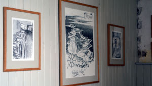 """Bilder ur boken """"Pappan och havet"""" i Söderskär fyr"""