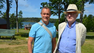 Gabriel Suovanen och Bengt Forsberg.