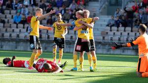 HIFK mot KuPS i fotbollsligan