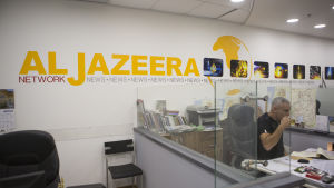Al Jazeeras nyhetsredaktion i Israel hotas av nedläggning.