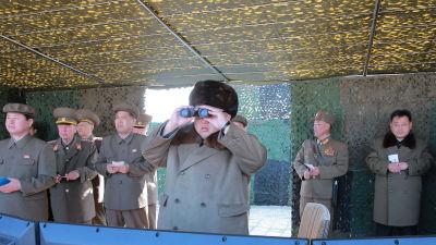 Nordkoreansk provskjutning
