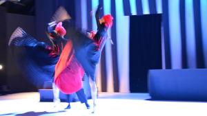 Scen ur dansdramat Julia & Julia