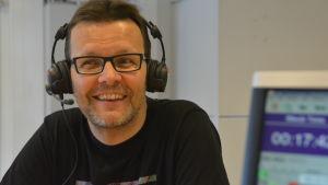 Roland Granberg från Tenala är sportsnackare i Yle Västnyland.