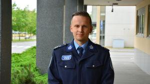 Mats Sjöholm, kriminalkommissarie vid Österbottens polisinrättning