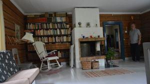 Vardagsrummet på Lillholmen.