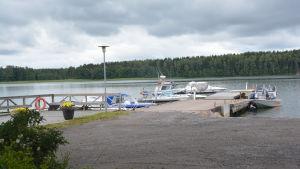 Skärgårdshamnen i Bromarv