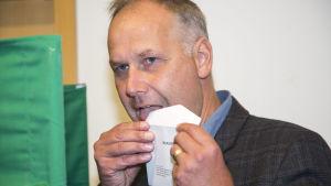 Svenska vänsterpartiets ledare Jonas Sjöstedt.