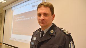 Kjell Nylund från Polisyrkeshögskolan.