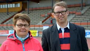 Inger Nabb och Tom Gullberg.