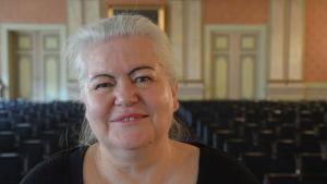Merja Tyynelä, Vasa stadsorkesters intendent.