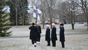Kommendörsbyte vid Marinen 29.12.2015