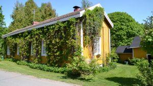 Engströms hus på Klappgatan 3 i Lovisa.