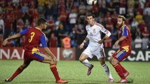 Gareth Bale, Andorra-Wales