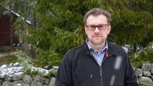 Lars-Johan Andersson, ordförande för Vänsterförbundets svenska sektion i Österbotten.