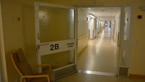2B är en av de avdelningar på Mjölbolsta som inhyser flyktingar.