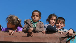 Barn i Mosul.