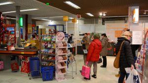 Posten i Citymarket i Borgå