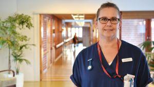 Sjukskötare Sirpa Hietanen.