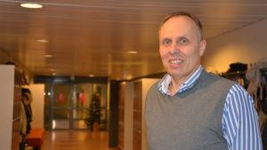 Ben Johansson, rektor, Kimitoöns gymnasium, 4.12.2014