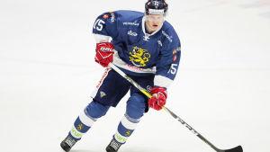 Miro Aaltonen gjort mål i fyra av de fem landskamperna han spelat.
