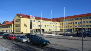 Novias och VAMK:s gemensamma campus på Brändö i Vasa.
