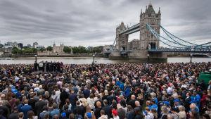 London 5.6.2017 några dagar efter attackerna som ledde till tio döda.