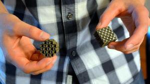 3D-printade delar