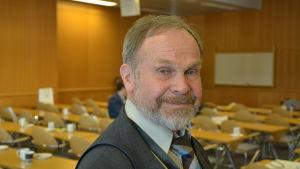 Christer Gorshelnik på Åbo Messcenter.
