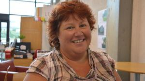 Annalena Sjöblom deltog i seminarium om vårdreformen  i Kimito.