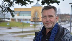 Kristian Lindroos, politiker (SFP) och fastigehtsförmedlare på Kimitoön.