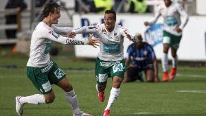 Diego Assis firar mål i cupfinalen