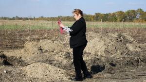 Jelena Vasileva dokumenterar läget i Mariupol
