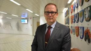 Vasas stadsdirektör Tomas Häyry.