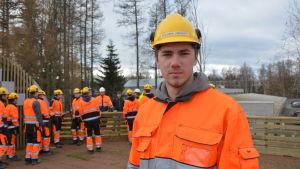 Benjamin Lindqvist är nöjd med undervisning på Optima.