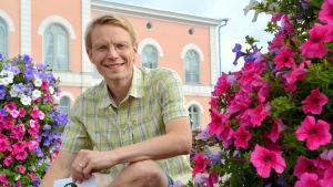 Timo Virtala på Lovisa torg