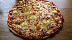 Pizzabakningsprov i Strömborgska skolan