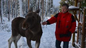 Markku Harju och Mervi.