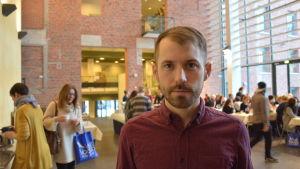 Daniel Poohl, chefredaktör på Expo.