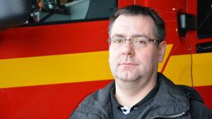Sami Suojanen är kårchef för Pargas FBK