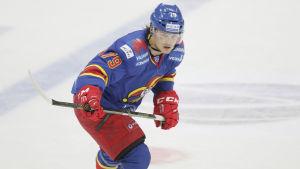 Eetu Pöysti ansluter till Kinas KHL-lag.